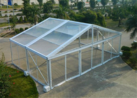 Beautiful Wedding Party Clear Roof Tent , Sun Proof Clear Frame Canopy Tent