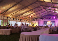 20x30m Clear Span Tent For Wedding Events Aluminum Structure Waterproof