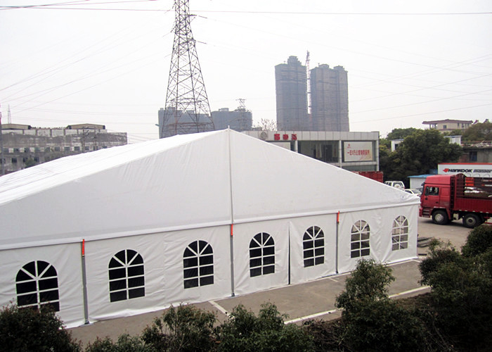 Heavy Duty White Clear Roof Top Aluminum Frame Tent With Transparent Windows