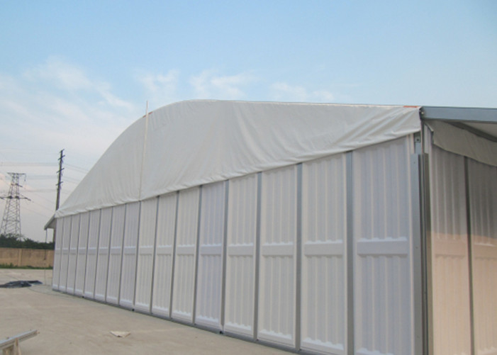 Solid Abs Walls Pagoda Marquee Party Tent For Wedding Reception White Color
