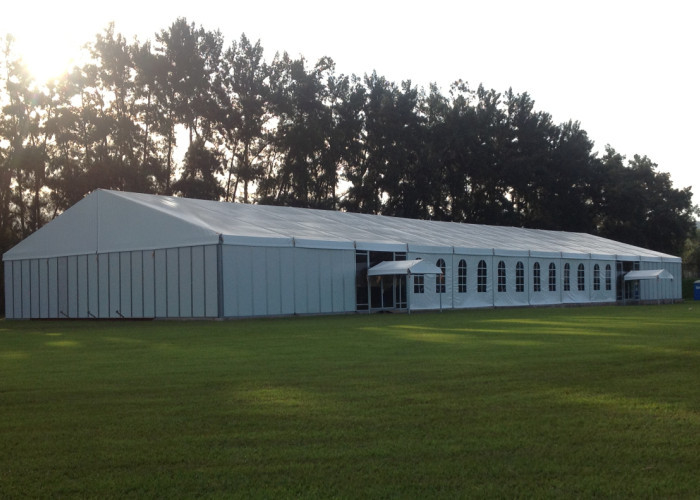 Air Conditioned White Marquee Party Tent For Wedding Removable Temporary