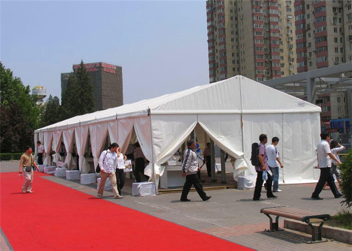 Movable Aluminum Frame 200 Person Tent PVC 10x24m No Pole Inside